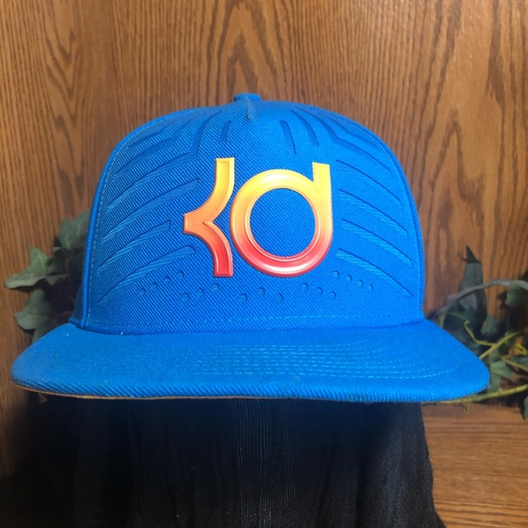 Nike True KD Kevin Durant Snap Back Cap EUC Blue